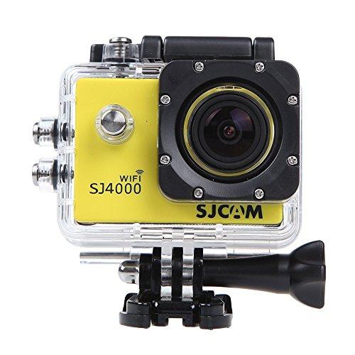 Wifi Sj4000 Outdoor Sports Dvr Cam Action Dv Camera Car Recorder 1080P 1.5 Inch 12Mp 170 Degree Full Hd Wide-Angle Micro Usb 2.0 Yello