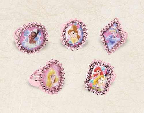 Disney Princess Party Favors - 5 Assorted Rings sold individually