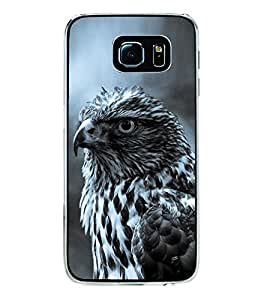 Hawk 2D Hard Polycarbonate Designer Back Case Cover for Samsung Galaxy S6 Edge+ :: Samsung Galaxy S6 Edge Plus :: Samsung Galaxy S6 Edge+ G928G :: Samsung Galaxy S6 Edge+ G928F G928T G928A G928I