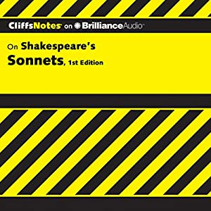CliffsNotes: Shakespeare's Sonnets, 1st Edition Audiobook