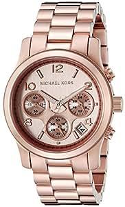 Michael Kors Women's MK5128 Runway Rose Gold-Tone