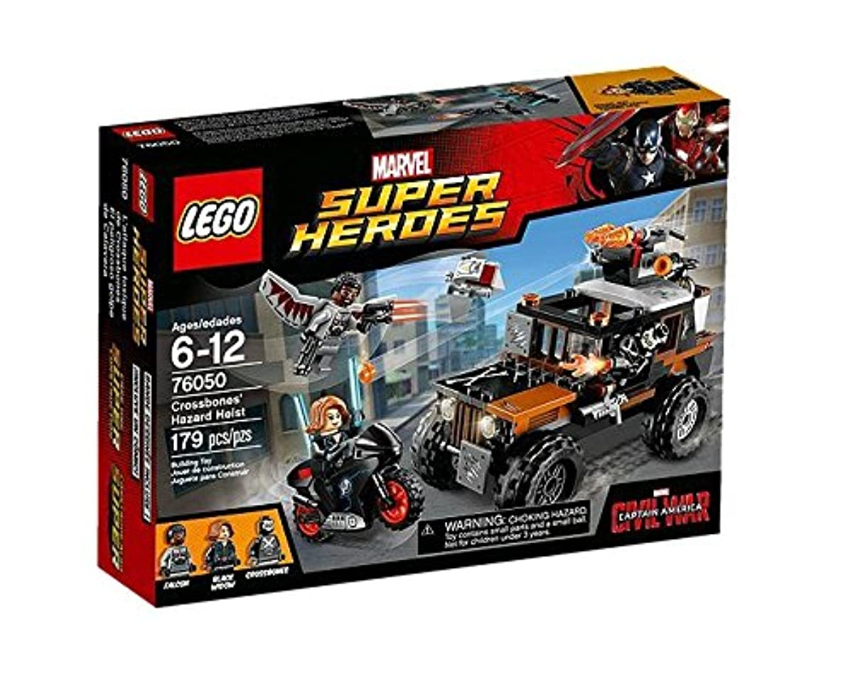[해외] 레고 (LEGO) 슈퍼히어로즈 크로스(ROSS) 포함 본의의 강탈 76050-76050 (2016-03-04)