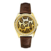 Guess W0056L2 Ladies 3D ANIMAL Brown Watch