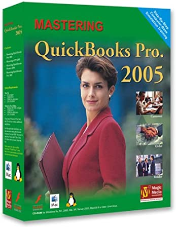 QuickBooks Premuim/Pro 2005, 2004 and 2003 Training 3-CD Courses (Special Edition)