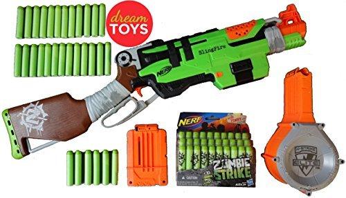 Nerf Zombie Strike Slingfire Box