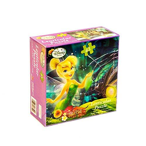 Disneys Fairies Lenticular Puzzle (1) Party Supplies - 1