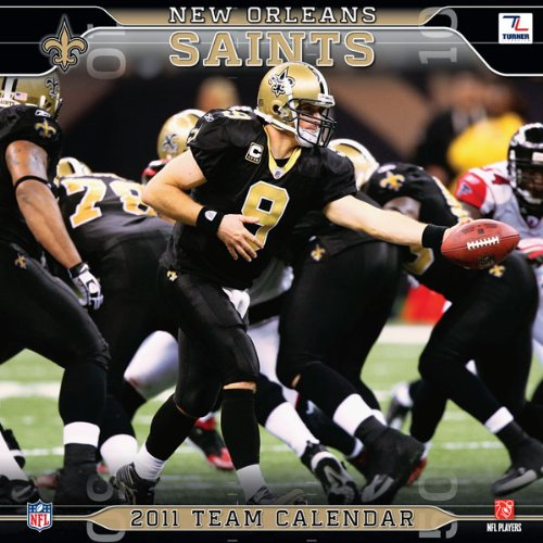2011 New Orleans Saints Calendar
