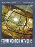 Communication Networks (007246352X) by Alberto Leon-Garcia