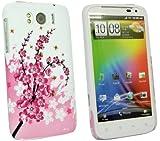 Kit Me Out UK Plastic Clip-on Case for HTC Sensation XL - Blossom Pink