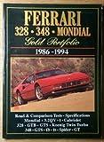 Ferrari 328-348 Mondial Gold Portfolio, 1986-94 (Road Test)