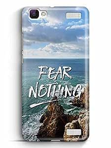 YuBingo Fear Nothing Designer Mobile Case Back Cover for Vivo V1 Max
