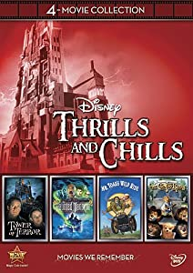 Disney 4-Movie Collection: Thrills and Chills (Haunted Mansion, Tower Of Terror, Mr. Toad's Wild Ride, Country Bears) by Walt Disney Studios Home Entertainment