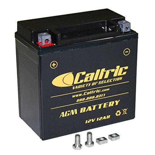 CALTRIC AGM BATTERY Fits HONDA TRX500FA TRX-500FA Foreman Rubicon 500 4X4 2001-2008 2012 2013 (Honda Foreman 500 Battery compare prices)