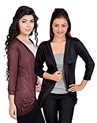 sweekash women's Pocket shrug (Combo pack of 2)