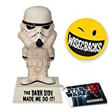 Stormtrooper: &#8220;The Darkside Made Me Do It!&#8221; &#8211; Star Wars &#8211; Wacky Wisecracks Bobble-Head