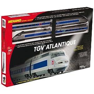 mehano tgv atlantique train lectrique chelle 1 87. Black Bedroom Furniture Sets. Home Design Ideas