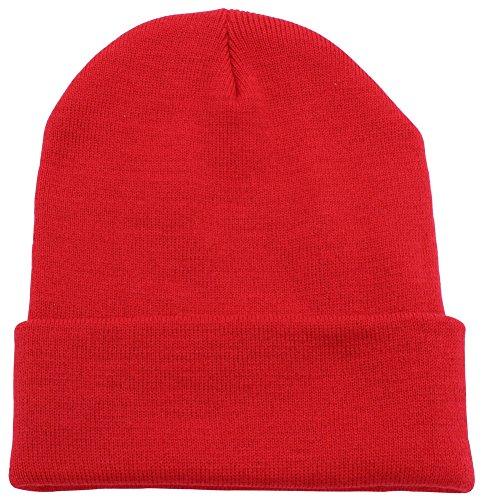 cuffed-plain-beanie-skull-cap-winter-unisex-knit-hat-toboggan-for-men-women-unique-timeless-clothing