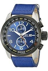 Invicta Men's 19411 Aviator Analog Display Quartz Blue Watch
