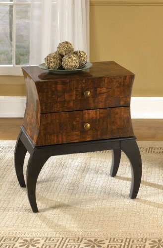 Cheap Hidden Treasures End Table w 2 Drawers (T73371-00)