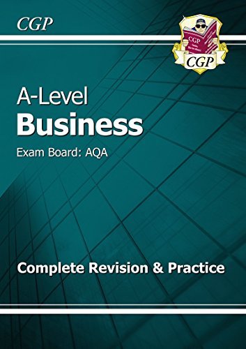 New 2015 A-Level Business: AQA Year 1 & 2 Complete Revision & Practice