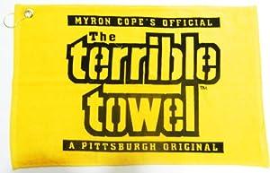 NFL Steelers Yellow Terrible Towel 15x25