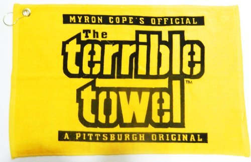 NFL Steelers Yellow Terrible Towel 15x25