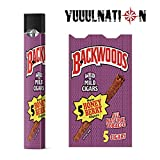 YuuulNation Original Juul Skin, 3m Durable Vinyl, Full Fit Coverage, Charger Compatible, Vinyl, Decal, Wrap (Backwoods) (Color: Backwoods)