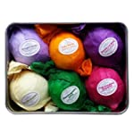 Bath Bombs Gift Set by Rejuvelle- 6 A...