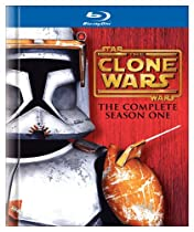 Star Wars The Clone Wars - The Complete Season One - TV Series - Blu-ray