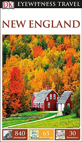 Dk Eyewitness Travel Guide: New England front-858359
