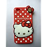 VIVO Y55 / VIVO Y55L Back Cover - Yes2Good Printed Hello Kitty Soft Rubber Silicone Pink Back Cover Case For VIVO Y55 / VIVO Y55L Back Cover-RED