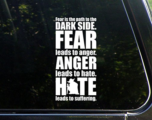 Fear Anger Hate - 3 3/4