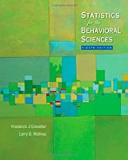 Statistics for the Behavioral Sciences by Frederick J Gravetter