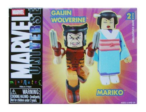 Marvel MiniMates Exclusive Wolverine Mariko