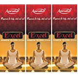 Amrutha Aromatics Excel Incense Sticks 100G (Pack Of 3)