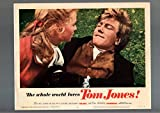 TOM JONES-1963-LOBBY CARD-ROMANCE-COMEDY-ALBERT FINNEY-SUSANNAH YORK-fine FN
