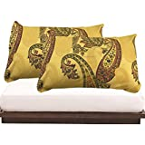 Tanya's Homes Printed Cotton Pillow Covers (Pack Of 2)