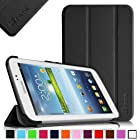 Fintie Samsung Galaxy Tab 3 7.0 Case Cover - Ultra Slim Lightweight Stand Smart Shell , Black