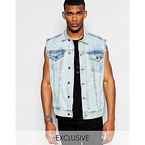 (リクレイム ヴィンテージ) Reclaimed Vintage メンズ アウター ジャケット Reclaimed Vintage Sleeveless Denim Jacket 並行輸入品