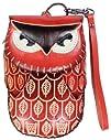 LittleKapsWorld Leather Handmade Craft Animal Owl Wristlet