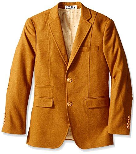 Isaac Mizrahi Big Boys' Solid Blazer, Camel, 16