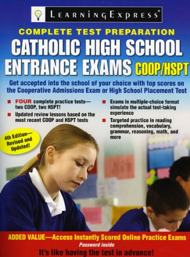 Catholic High School Entrance Exams, COOP/HSPT PDF