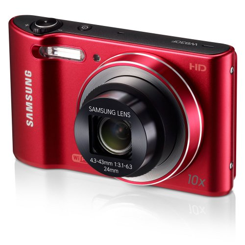 Samsung WB30F 16.2MP Smart WiFi Digital Camera with 10x Optical Zoom and 3.0