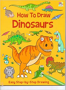 How to draw dinosaurs book