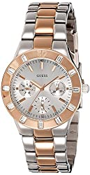 GUESS Analog Silver Dial Womens Watch - W14551L1