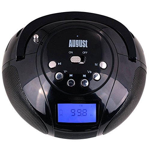 august se20 mini bluetooth mp3 stereo system portable radio with powerful bluetooth speaker. Black Bedroom Furniture Sets. Home Design Ideas