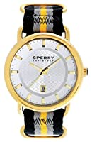 Sperry Top-Sider 'Striper' Round Nylon Strap Watch, 45Mm by Sperry Top-Sider