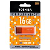TOSHIBA 東芝 USBフラッシュメモリ 16GB Windows/Mac対応 並行輸入品 (16GB, オレンジ)