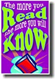 Reading Poster - The More You Read the More You Will Know
