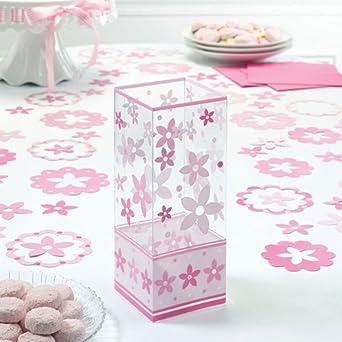Pink Flower Centerpieces (6 count)